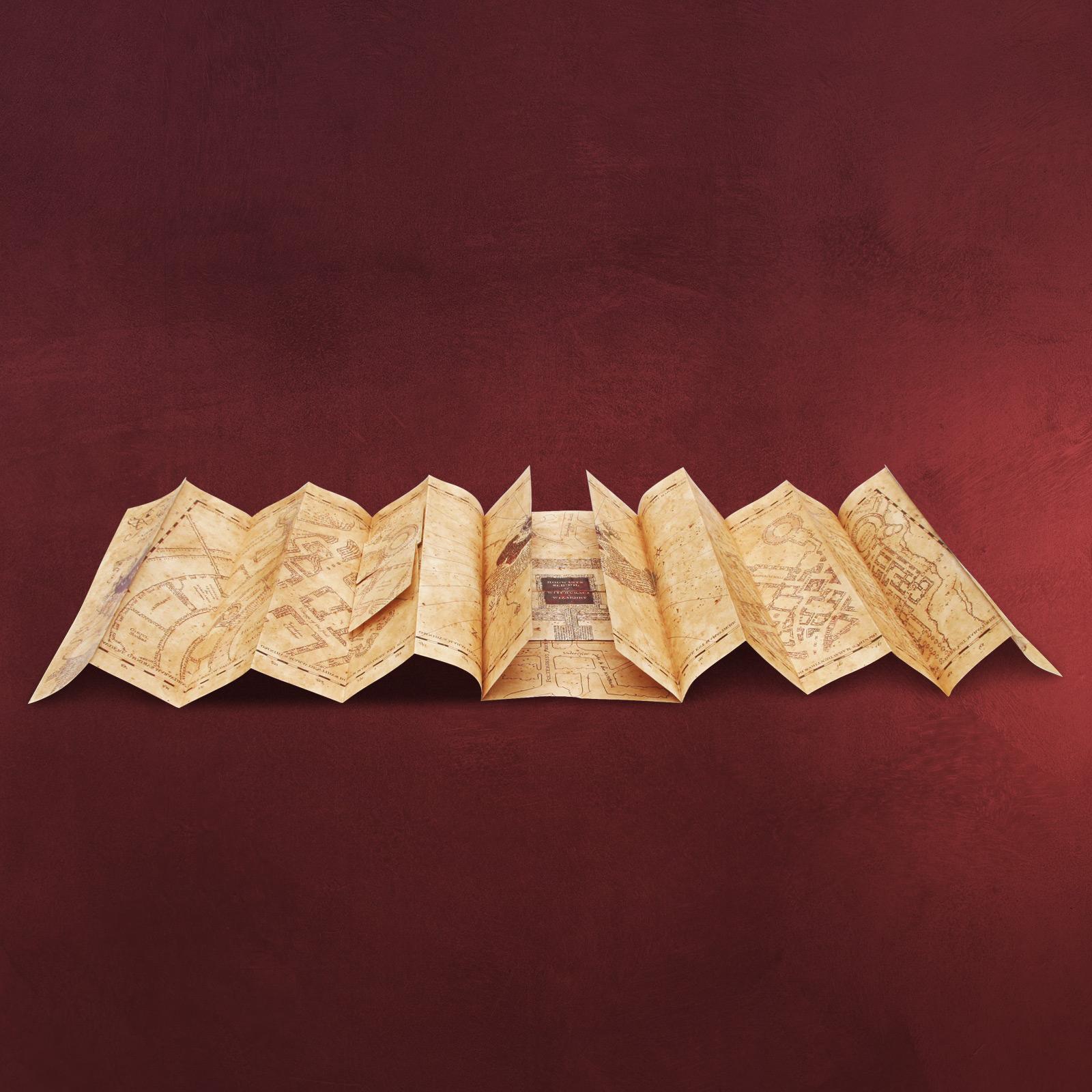Harry Potter Karte Des Rumtreibers Spruch.Die Karte Des Rumtreibers