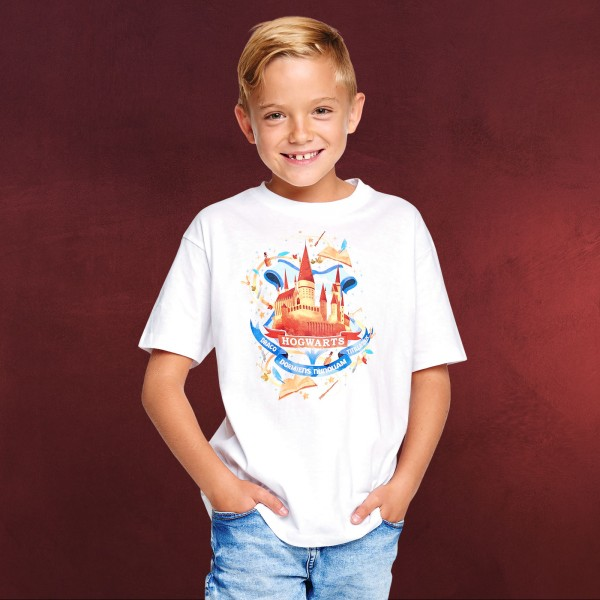 Harry Potter - Magical Hogwarts T-Shirt Kinder weiß