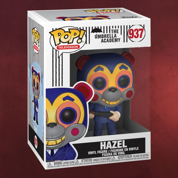 The Umbrella Academy - Hazel mit Maske Funko Pop Figur