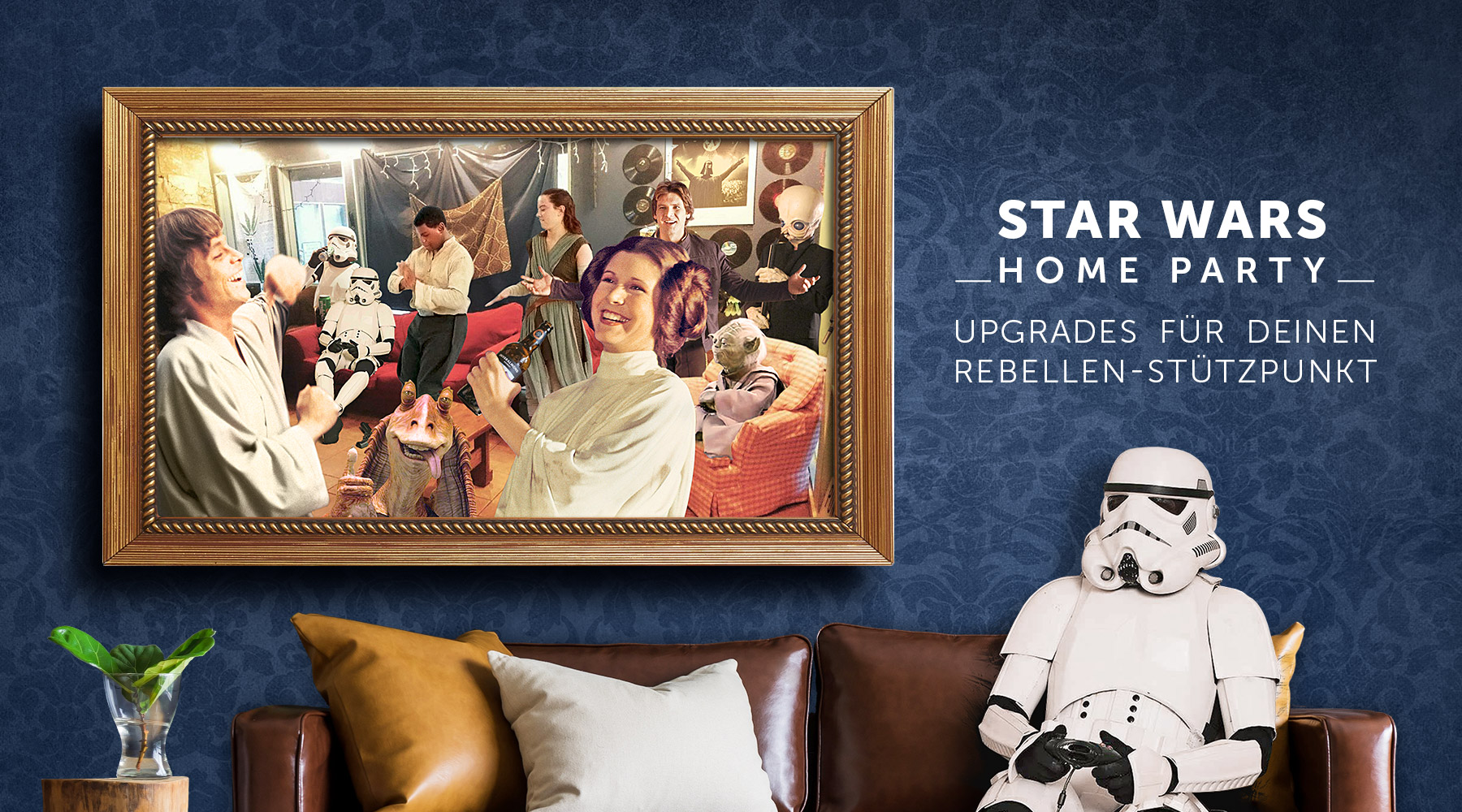 Star Wars Home Party