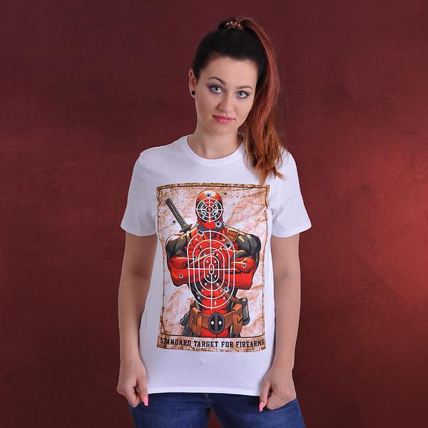 Deadpool - Target T-Shirt weiß