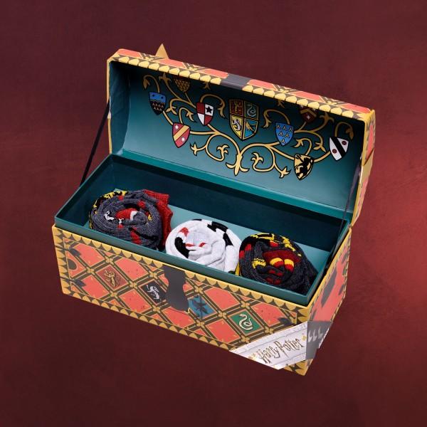 Harry Potter - Socken 3er Set in Geschenkbox