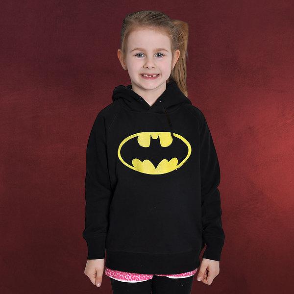 Batman - Logo Hoodie für Kinder