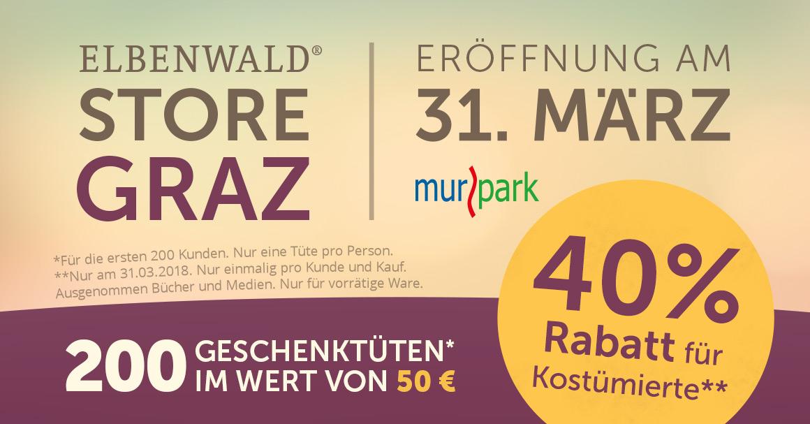 Eröffnung Elbenwald Store Graz