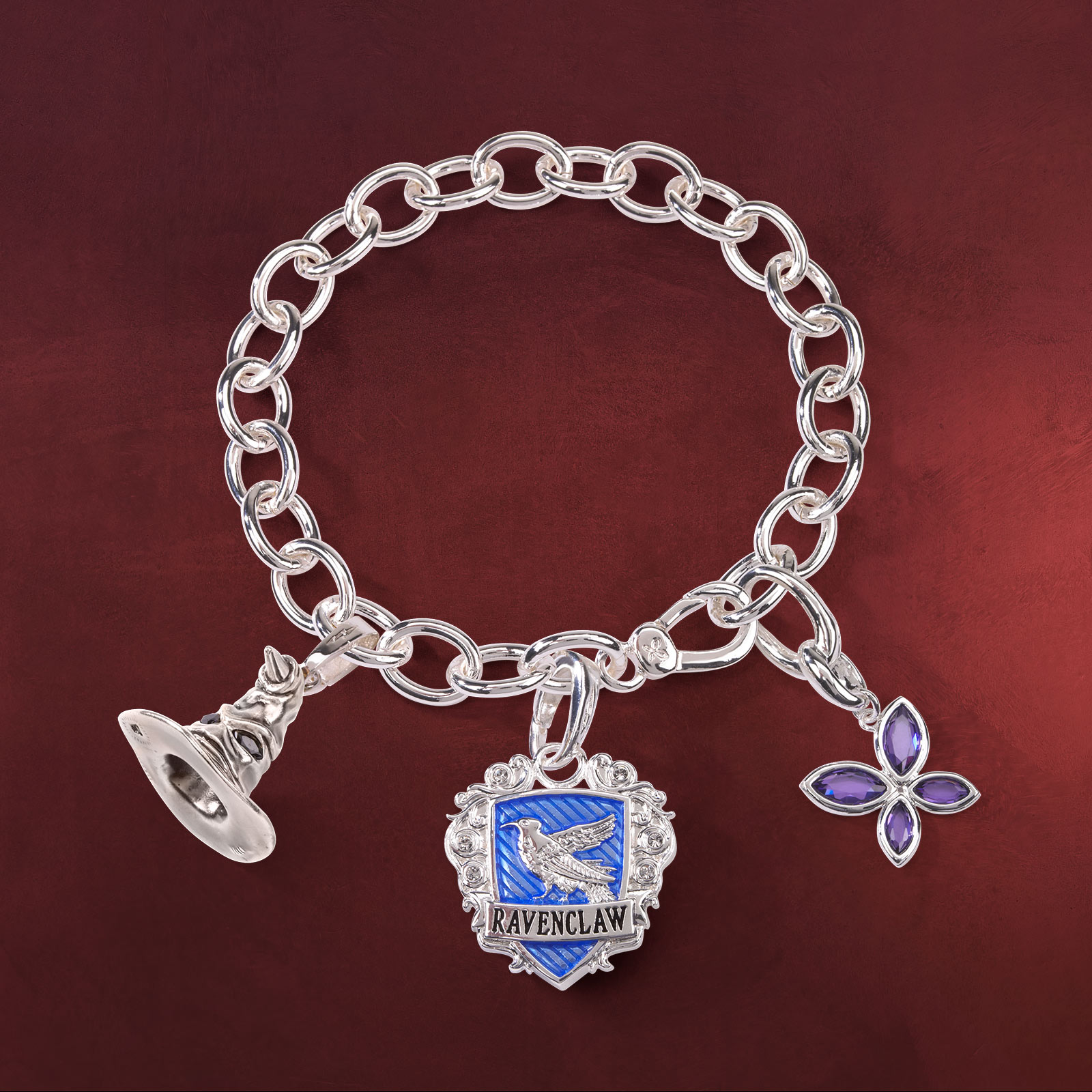 harry potter lumos ravenclaw charm armband elbenwald. Black Bedroom Furniture Sets. Home Design Ideas