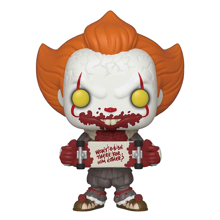 Stephen Kings ES - Pennywise Skateboard Funko Pop Figur