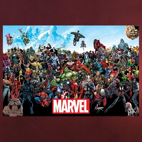 Marvel - Comic Universe Maxi Poster