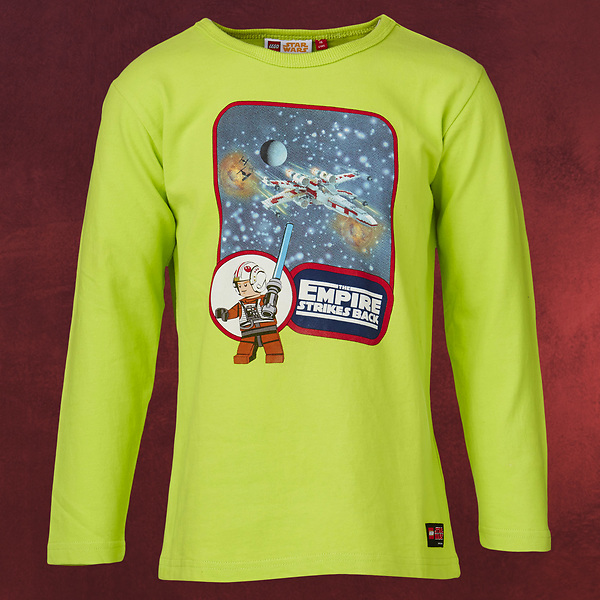 LEGO Star Wars - Empire Strikes Back Longsleeve Kinder neongrün