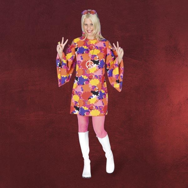 Hippie-Kleid - Damenkostüm