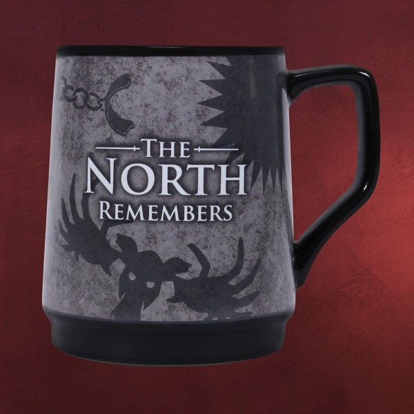 Game of Thrones - The North Remembers Thermoeffekt Tasse