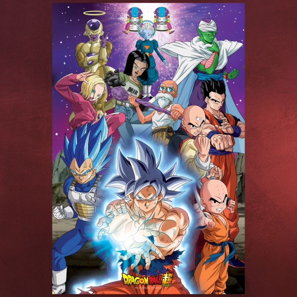 Dragon Ball Super - Universe 7 Maxi Poster
