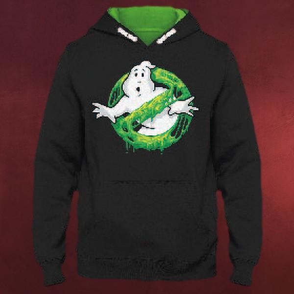 Ghostbusters - Slime Logo Kinder Hoodie schwarz