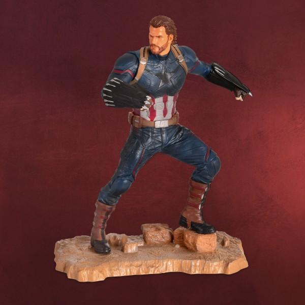 Avengers - Captain America Gallery Diorama Figur 25 cm