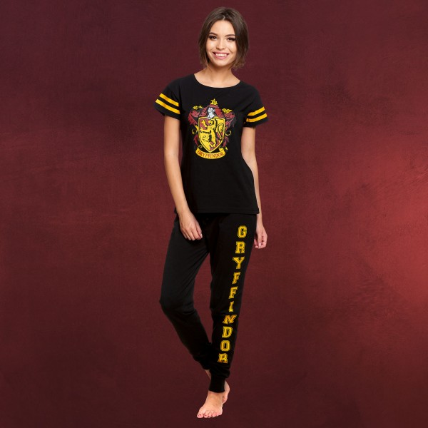 Harry Potter - Gryffindor Wappen Pyjama Damen
