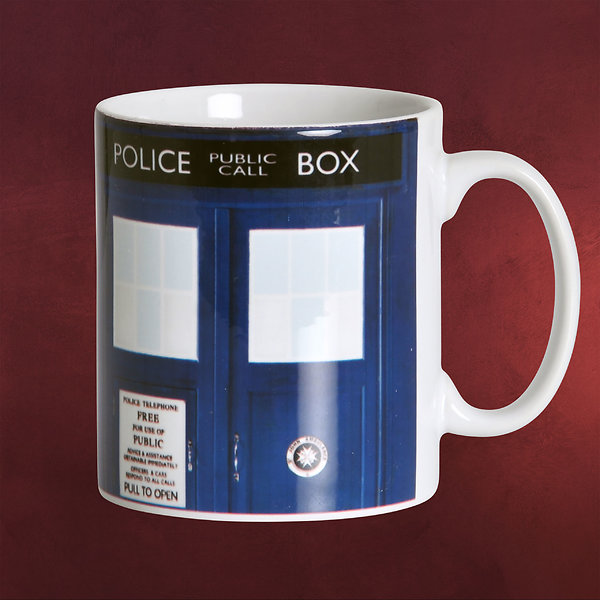 Doctor Who - Police Box Tardis Tasse
