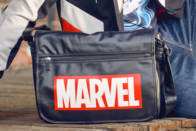 Marvel - Logo College Tasche