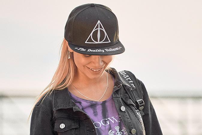 Harry Potter - Heiligtümer des Todes Snapback Cap
