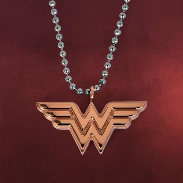 Wonder Woman Logo Anhänger inkl. Kette