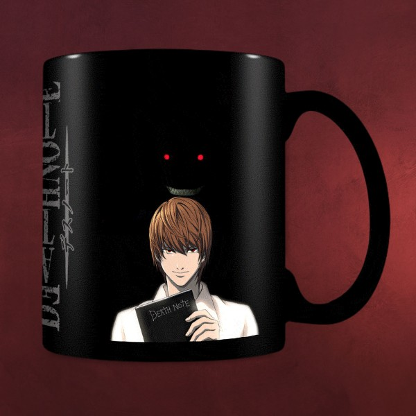 Death Note - Kira & Ryuk Thermoeffekt Tasse