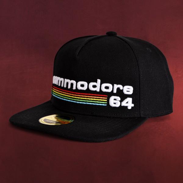 Commodore 64 - Rainbow Logo Snapback Cap