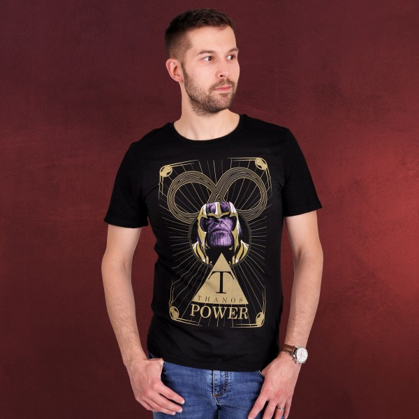 Avengers - Thanos Power T-Shirt schwarz