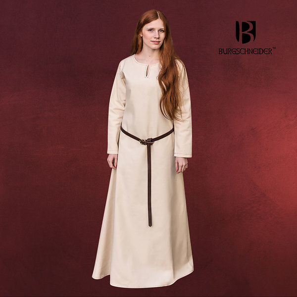 Mittelalter Unterkleid Feme natur