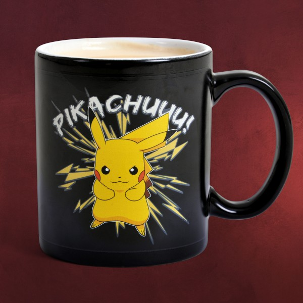 Pokemon - Pikachu Thermoeffekt Tasse