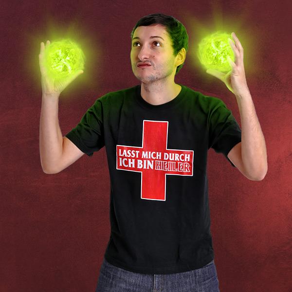 Ich bin Heiler T-Shirt