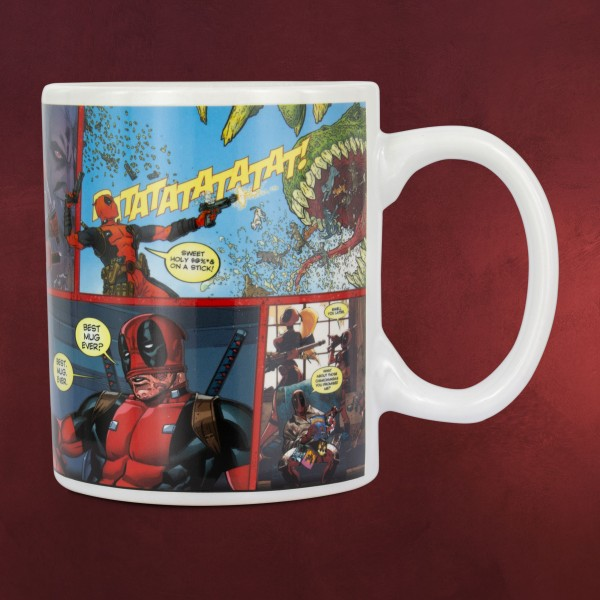 Deadpool - Best Mug Ever Thermoeffekt Tasse