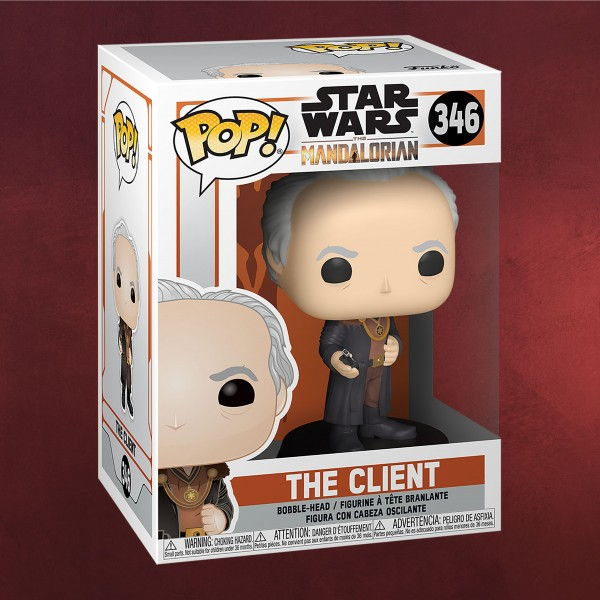 The Client Funko Pop Wackelkopf-Figur - Star Wars The Mandalorian
