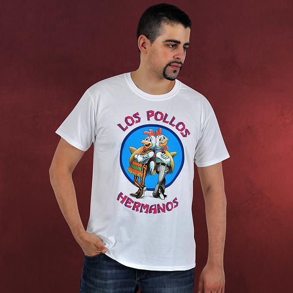 Breaking Bad - Los Pollos Hermanos T-Shirt weiß