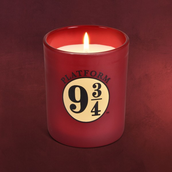 Harry Potter - Gleis 9 3/4 Kerze im Glas