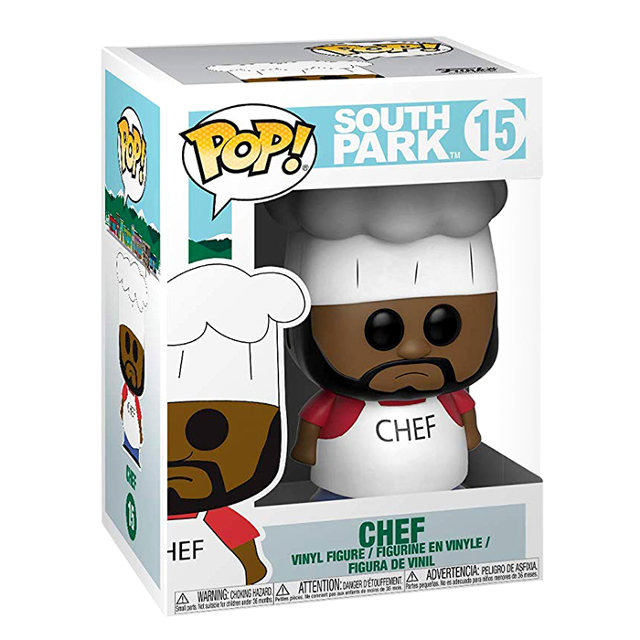 South Park - Chef Funko Pop Figur