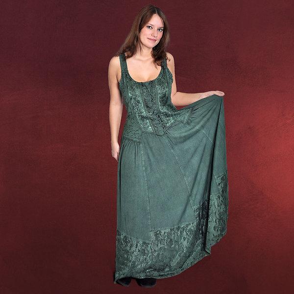 Mittelalter Trägerkleid Juliana grün