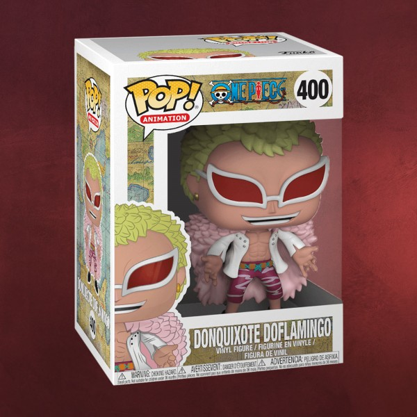 One Piece - Don Quichotte de Flamingo Funko Pop Figur