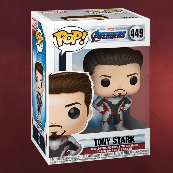 Avengers - Tony Stark Endgame Funko Pop Wackelkopf-Figur