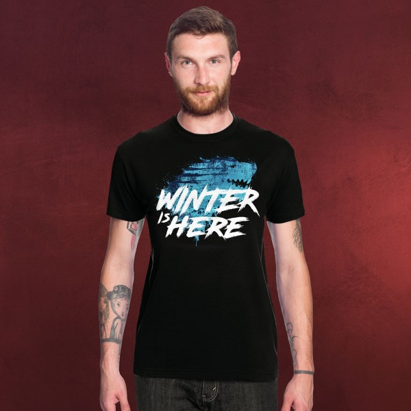 Winter is Here T-Shirt schwarz