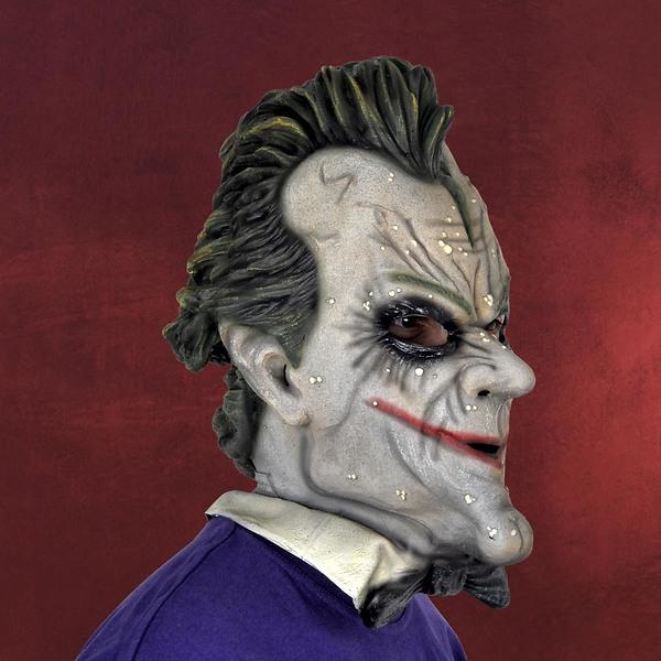 Batman - Joker Deluxe Latexmaske