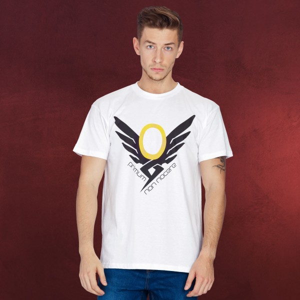 Overwatch - Mercy T-Shirt weiß