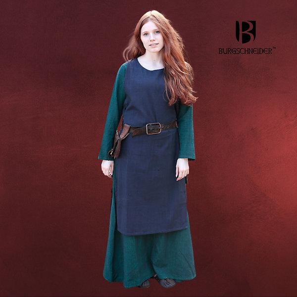 Mittelalter Überkleid Haithabu blau