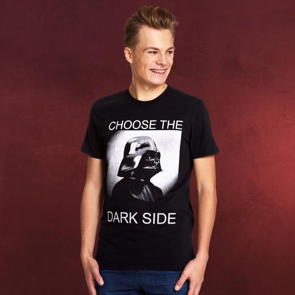 Star Wars - Darth Vader Choose the Dark Side T-Shirt schwarz
