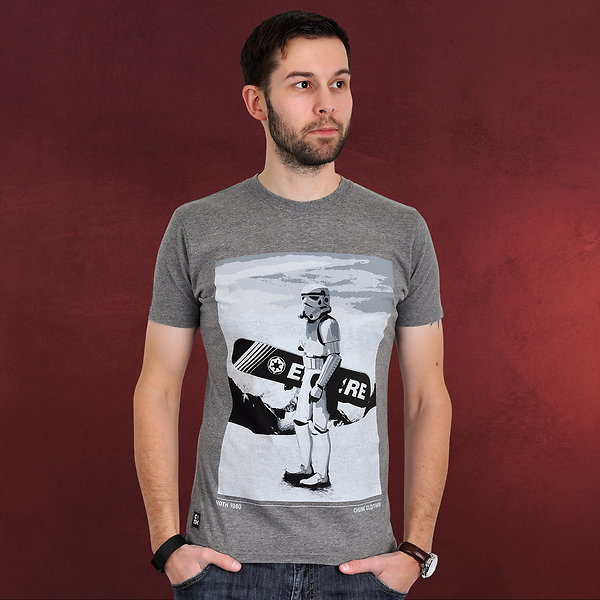 Star Wars - Snow Trooper T-Shirt grau