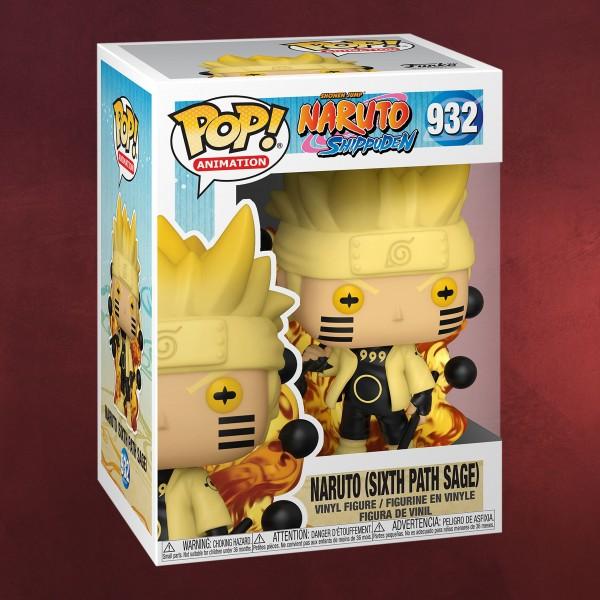 Naruto Sixth Path Sage Funko Pop Figur