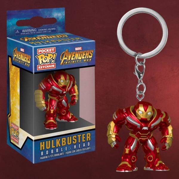 Avengers - Hulkbuster Infinity War Funko Pop Schlüsselanhänger
