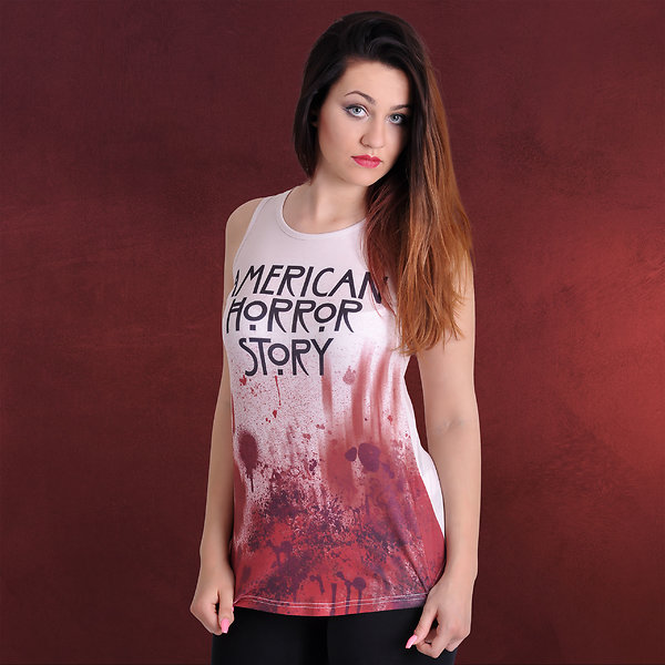 American Horror Story - Blood Tank Top creme