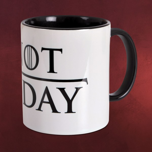 Not Today Tasse für Game of Thrones Fans