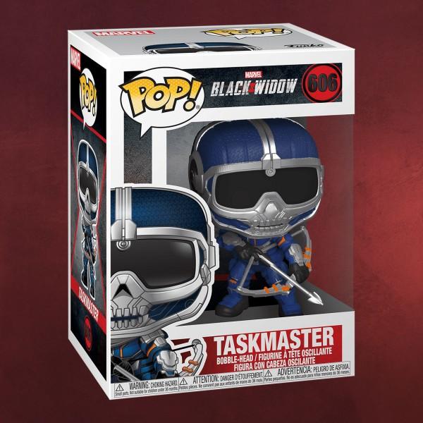 Black Widow - Taskmaster mit Bogen Funko Pop Wackelkopf-Figur