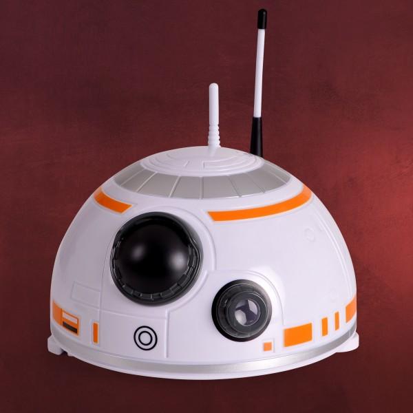 Star Wars - BB-8 Kuppel-Projektionswecker mit Sound