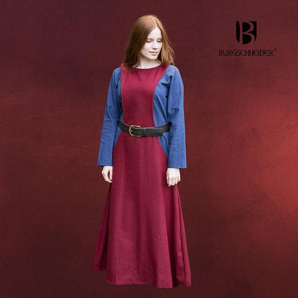 Mittelalter Überkleid Surcot Albrun rot