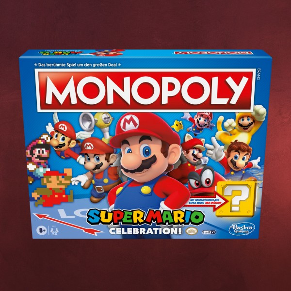 Super Mario - Celebration Monopoly